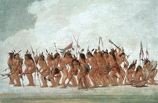 Dog Dance at Fort Snelling, 1835–37