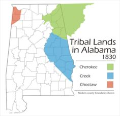 The Native American Alabama Tribes