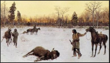Native American Indians History - Hunting